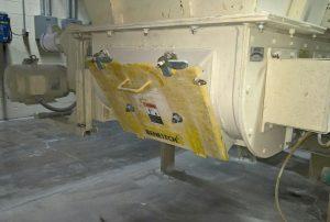 Custom curved Inspection Door.