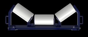 Roller belt idler