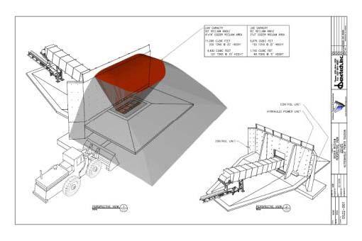 Safe+ Shallow Dozer Trap Coal Reclaim System | Benetech