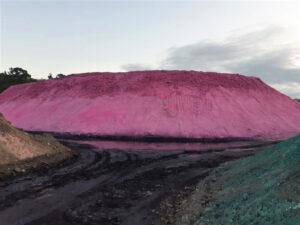 Pink dust sealant